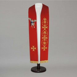Gothic Stole 14920 - Red