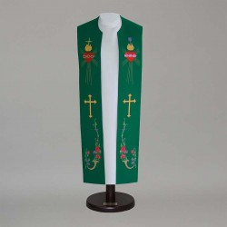 Gothic Stole 14923 - Green