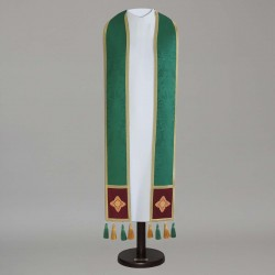 Gothic Stole 14927 - Green