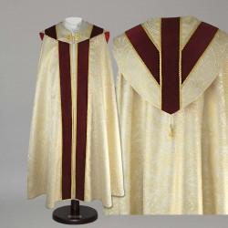 Gothic Cope 14945 - Gold