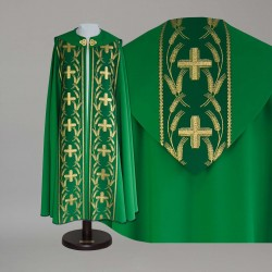 Gothic Cope 14954 - Green