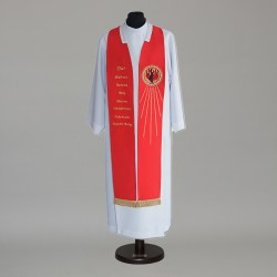 Gothic Stole 15007 - Red