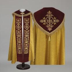 Gothic Cope 15035 - Gold