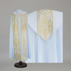 Gothic Cope 15040 - White