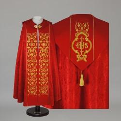 Gothic Cope 15041 - Red