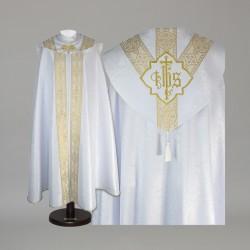 Gothic Cope 15042 - White