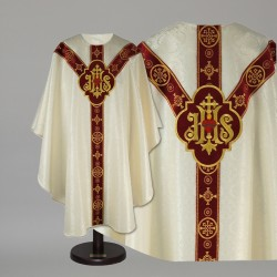 Gothic Chasuble 15051 - Cream