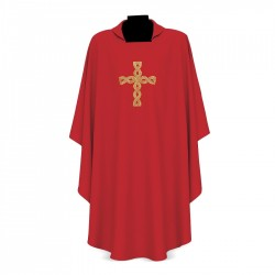 Gothic Chasuble 15090 - Red