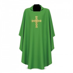 Gothic Chasuble 15093 - Green