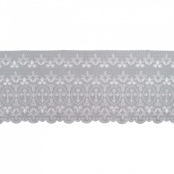 Cross and Grapes Lace 15157