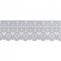 Cross and Wheat Lace 15158