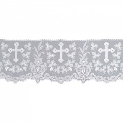 Cross and Wheat Lace 15160