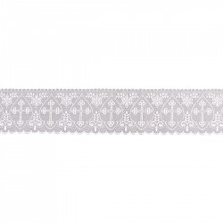 Cross and Wheat Lace 15164