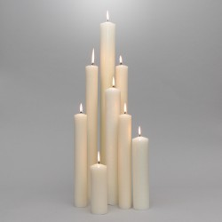 15/16'' x 9'' Altar Candles...