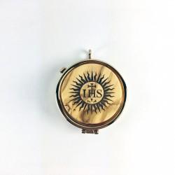 IHS and Sunburst Pyx 15255