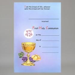 Communion Certificates,...