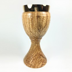 Hammered Finish Olive Wood...