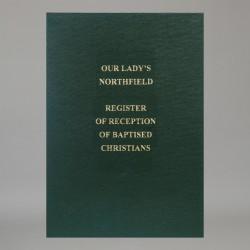 Register of Reception of...