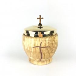 Modern Cross Olive Wood...