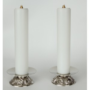 Candleholder and Cross 2""
