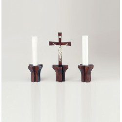 Candle Holders and Cross 103/3