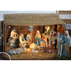"NATIVITY SET 33""  - 14 elements"
