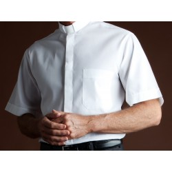 Italian made White shirt - short sleeve