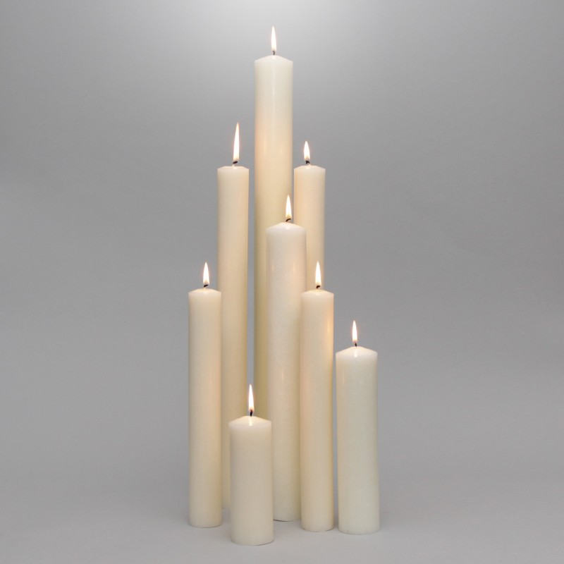 Premium High Content Beeswax Candles