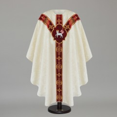 Cream Chasubles